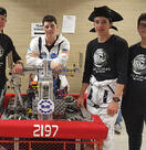 Summer Interns go to FIRST® Robotics State Finals!