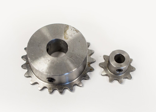 finished bore sprockets