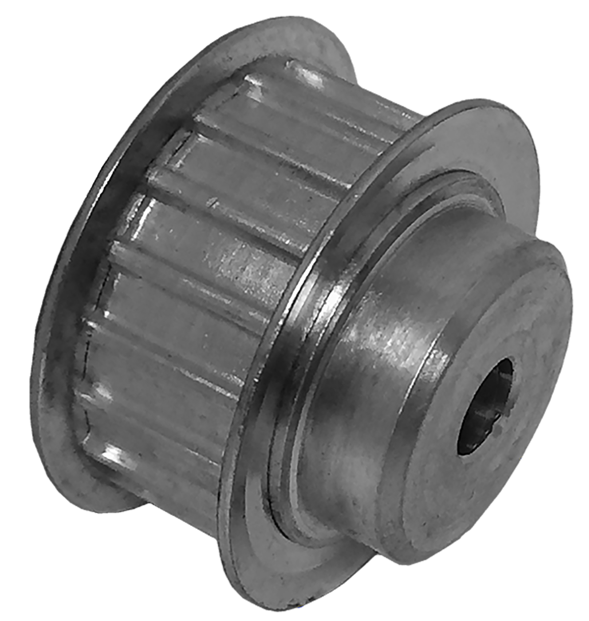 21AT5/18-2 - Aluminum Metric Pulleys