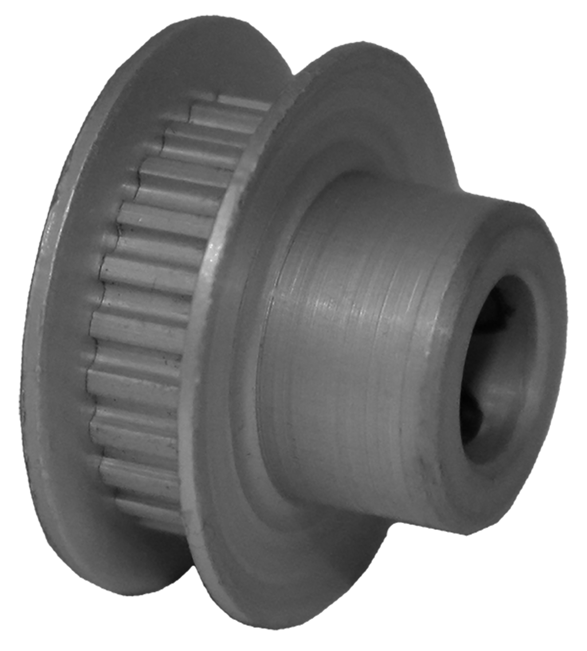 24MP012-6FA3 - Aluminum Imperial Pitch Pulleys
