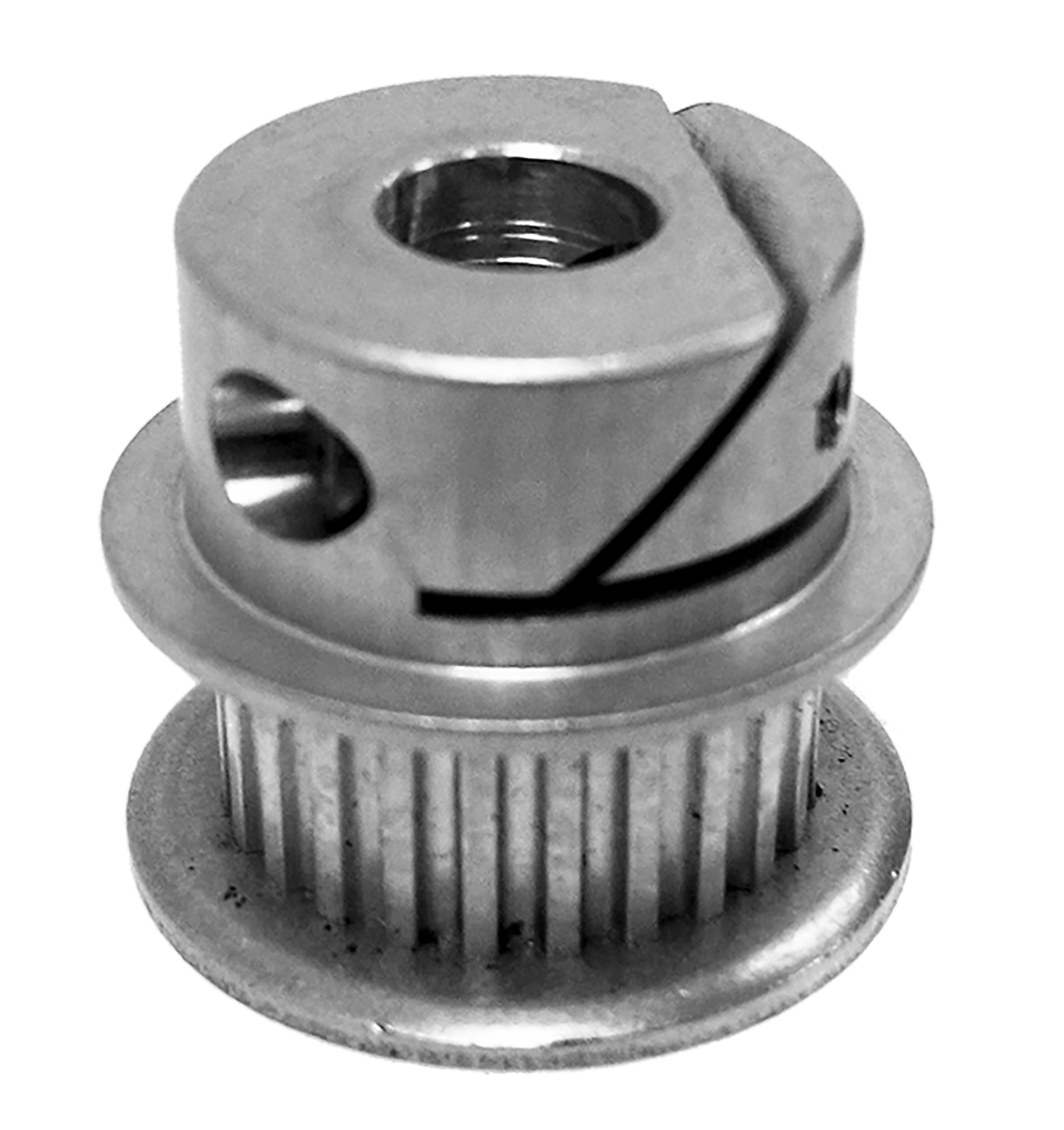 12MP025-IA1 - E-Z Lock Hub Aluminum Imperial Pitch Pulleys