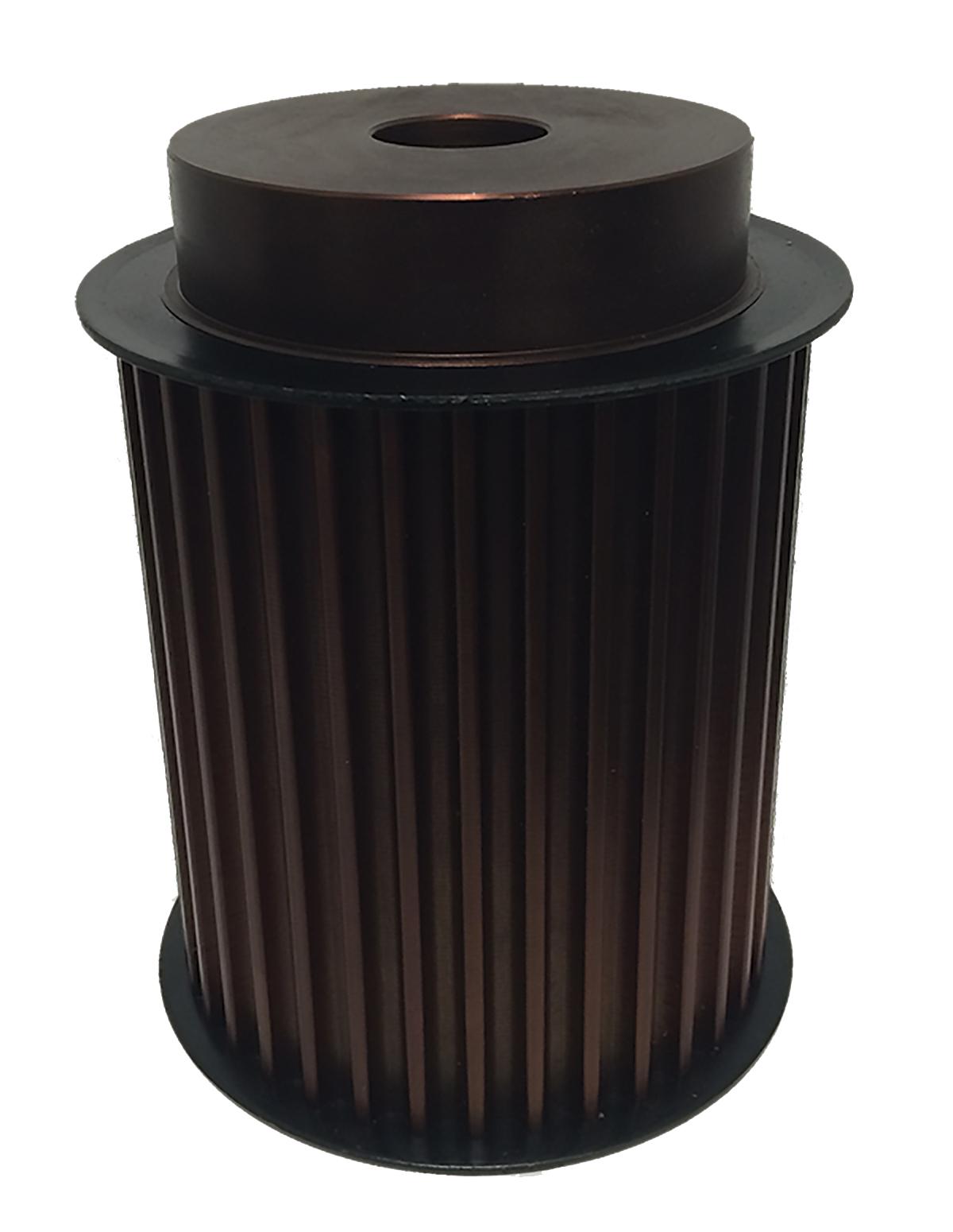 36-14M170-6FS16 - Steel Powerhouse®HTD® Pulleys