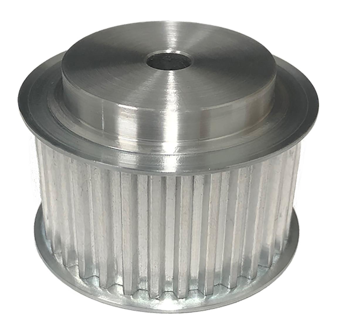 36T5/25-2 - Aluminum Metric Pulleys