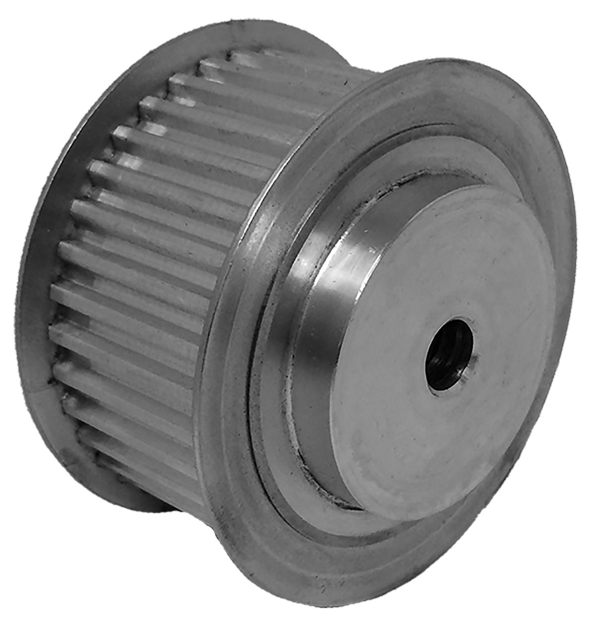 36T5/36-2 - Aluminum Metric Pulleys
