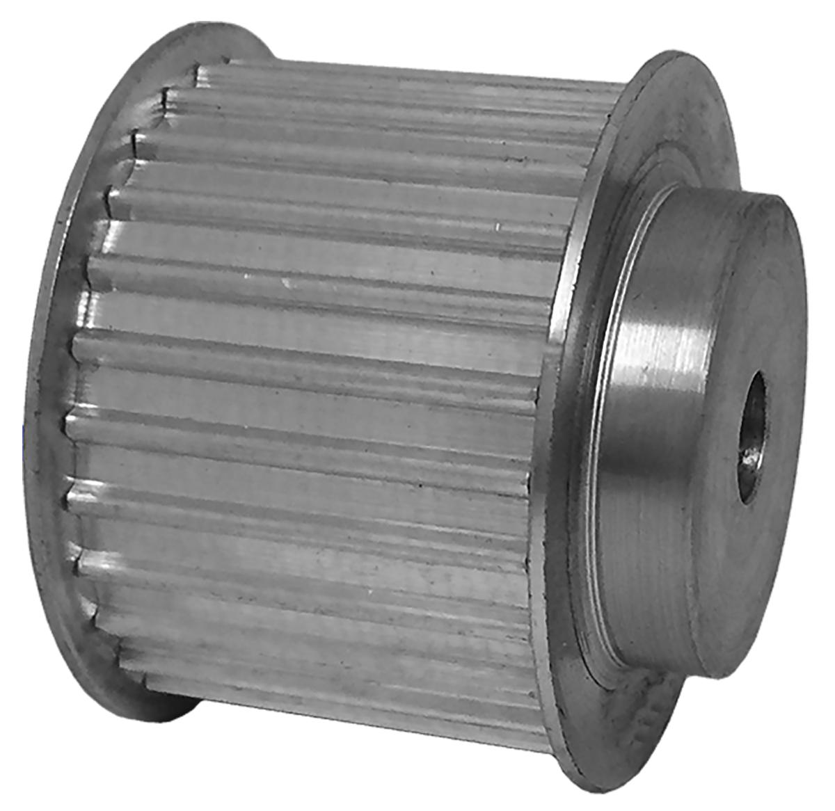 38AT5/27-2 - Aluminum Metric Pulleys