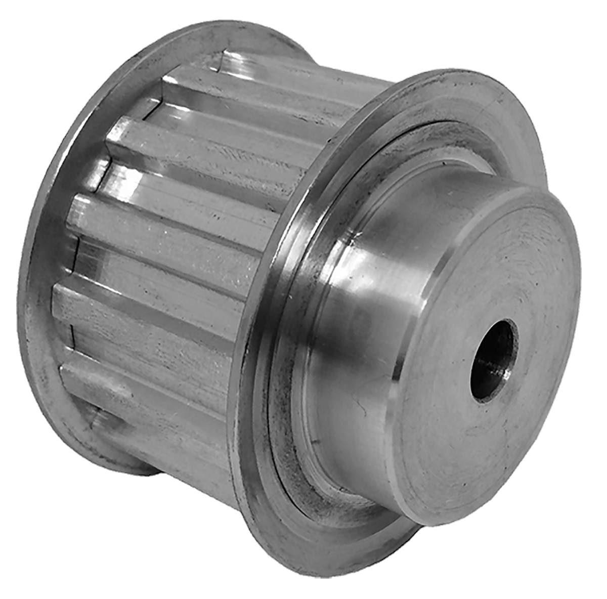40T10/16-2 - Aluminum Metric Pulleys