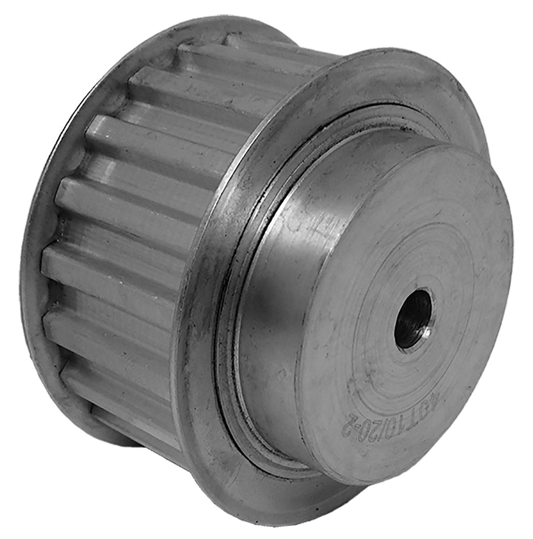 40T10/20-2 - Aluminum Metric Pulleys