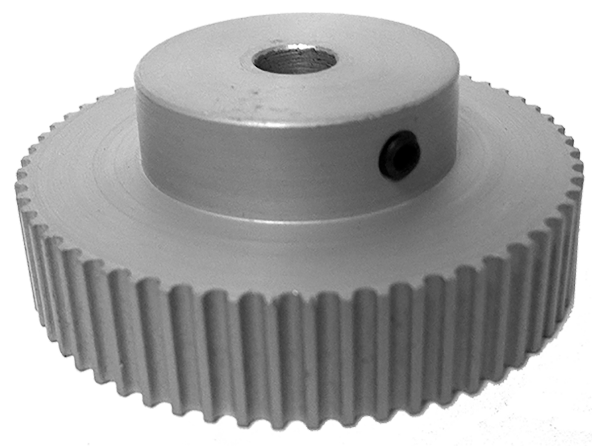 60-3M09-6A4 - Aluminum Powerhouse®HTD® Pulleys
