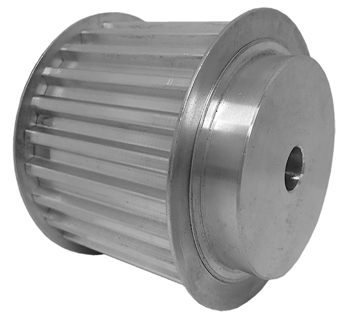 66T10/25-2 - Aluminum Metric Pulleys